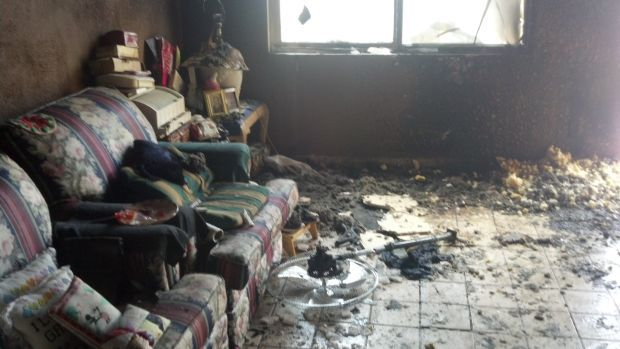 Flaming couch injures Tucson man