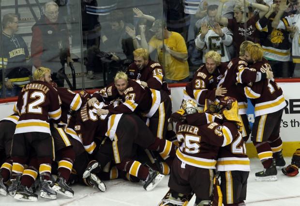 NCAA men's championship: Minnesota Duluth wins 1st NCAA title