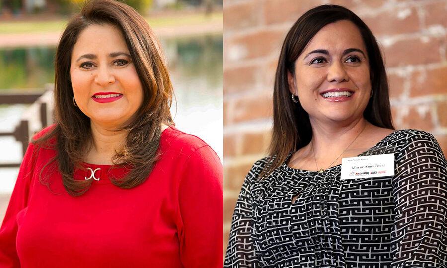 Lea Márquez Peterson y Anna Tovar