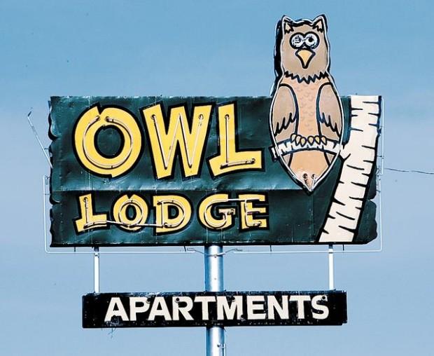 The snowbird motels of yore