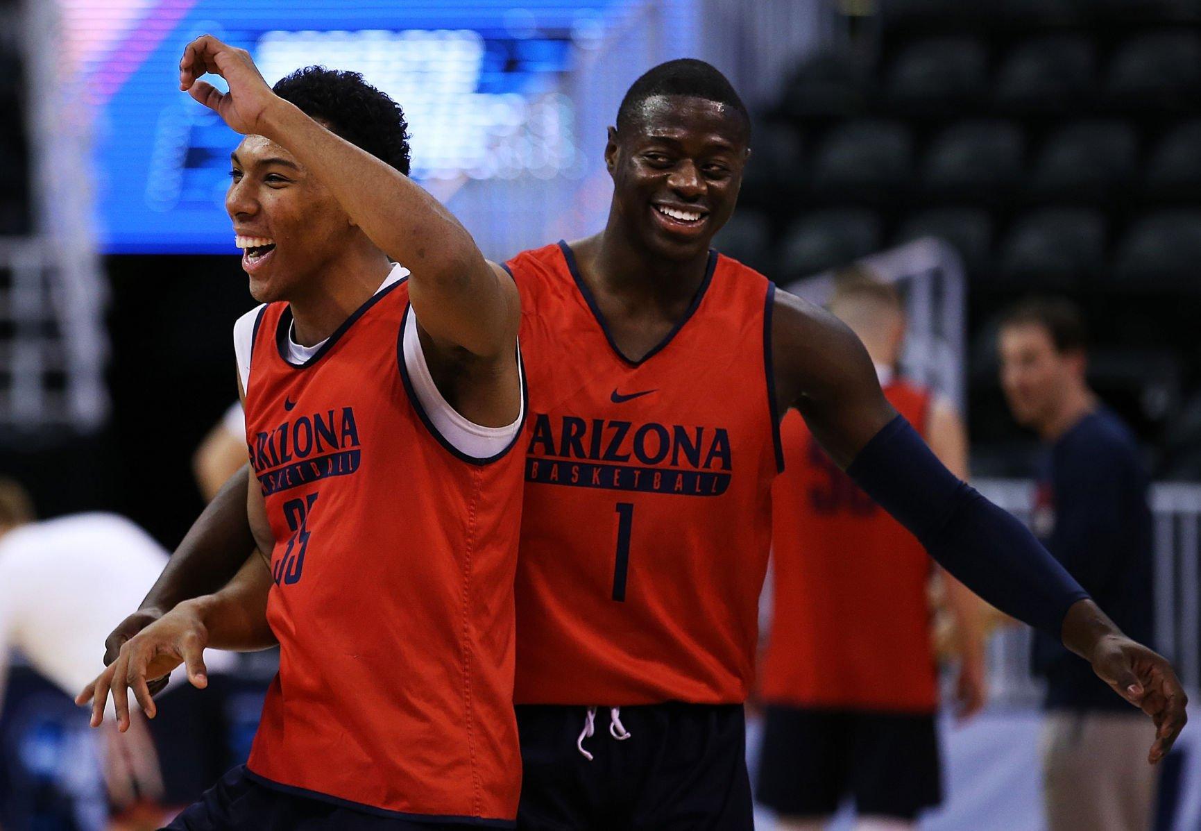 Allonzo Trier Arizona Wildcats Basketball Jersey - Crimson