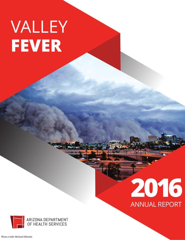 Arizona 2016 Valley Fever Report