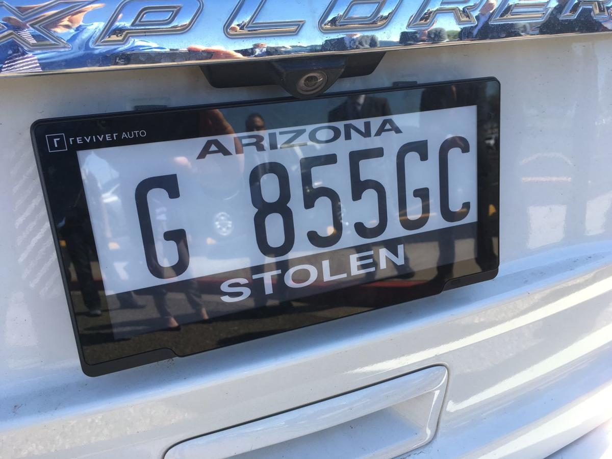 Rplate license plate