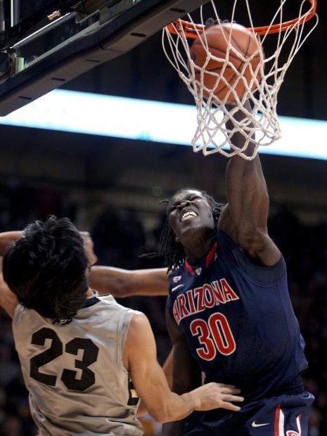 College basketball: Arizona Wildcats at Colorado