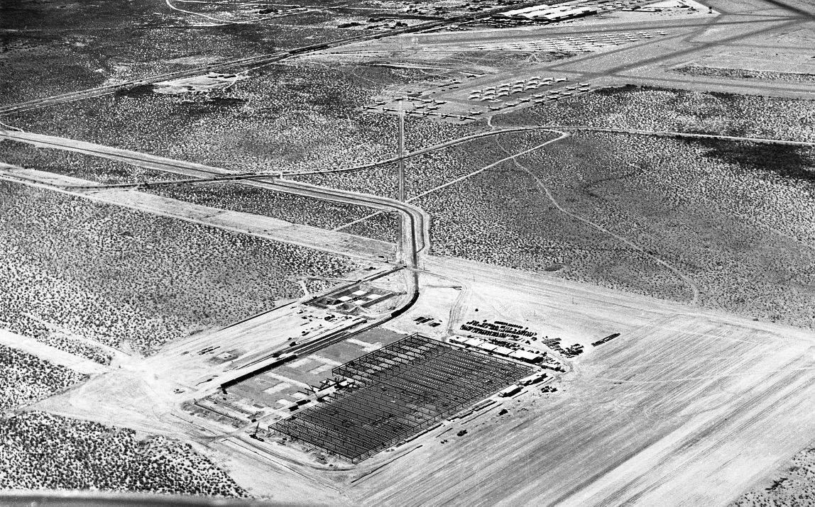 Hughes Aircraft plant in Tucson