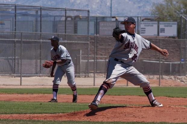 Baseball state tournament: Tarantola leads Sahuaro to upset win over I-Ridge