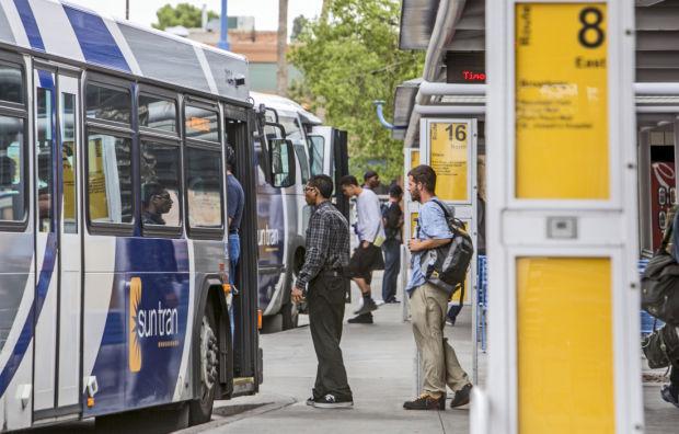 Ronstadt Center Bus Passengers