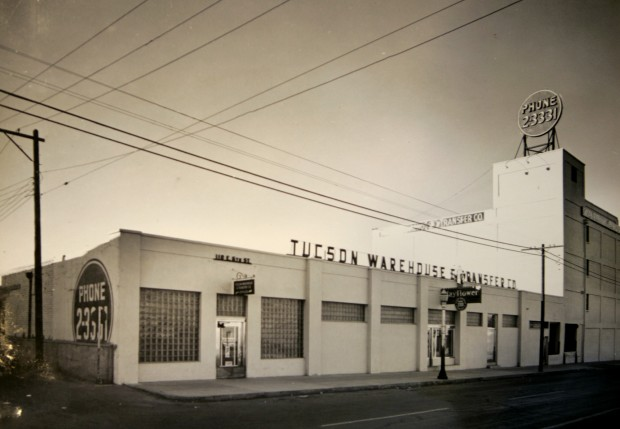 Roots of Tucson warehouse connected to a family tree