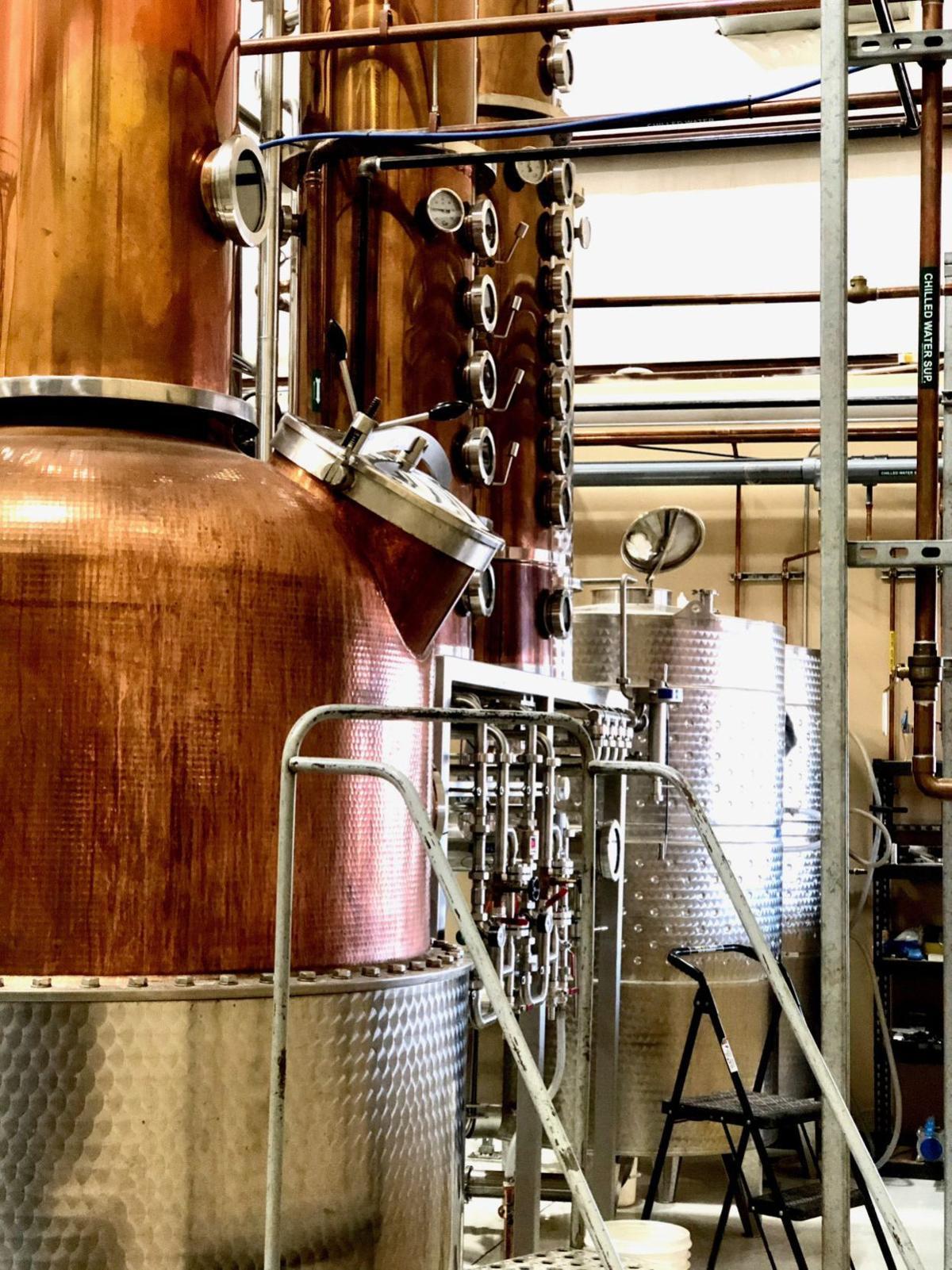 Flying Leap Vineyards & Distillery