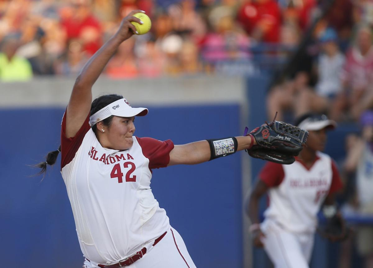WCWS Florida Oklahoma Softball