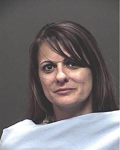 Woman driving drunk hits patrol car, police say