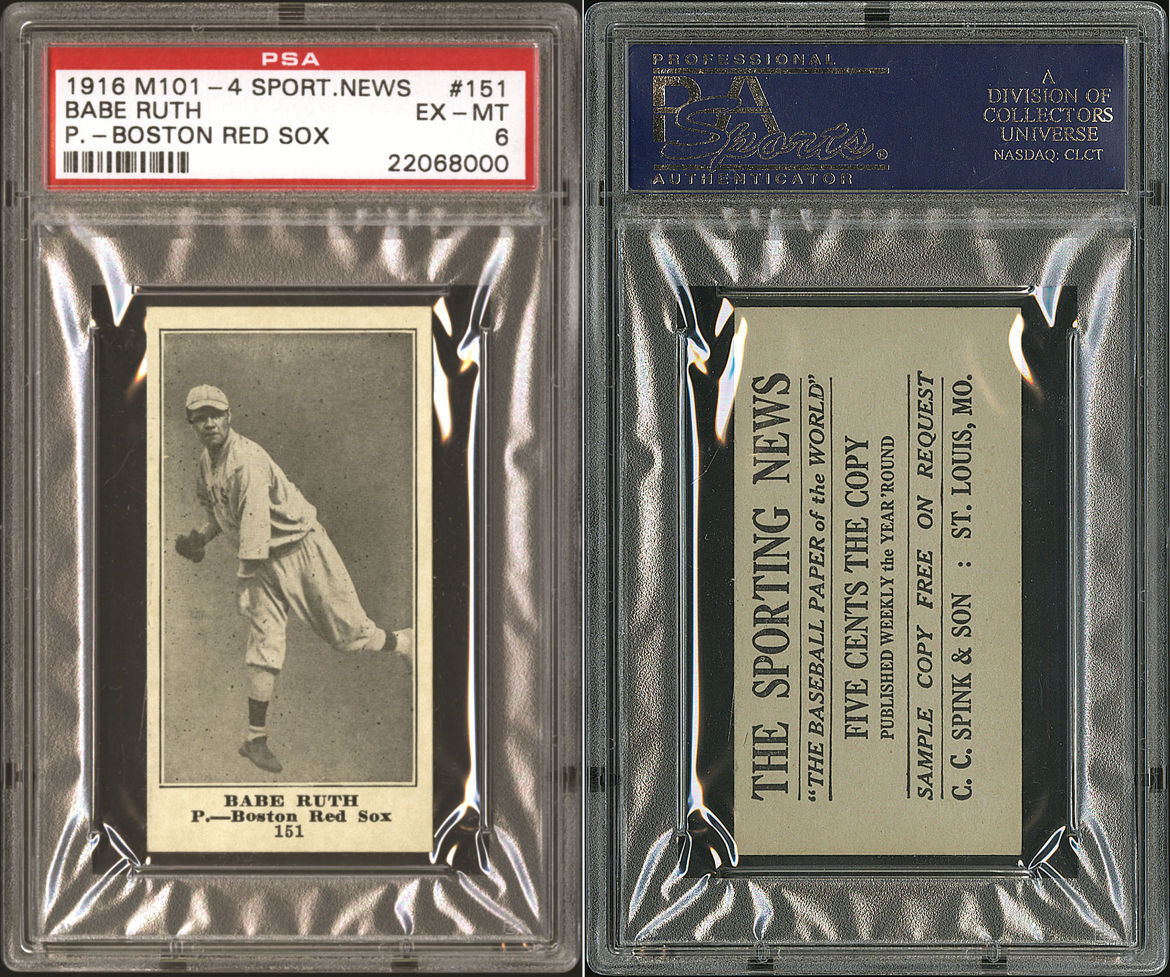 Babe ruth contract-9894