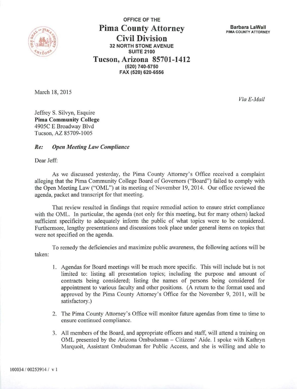 County attorney letter to pcc tucson download pdf county attorney letter to pcc thecheapjerseys Gallery