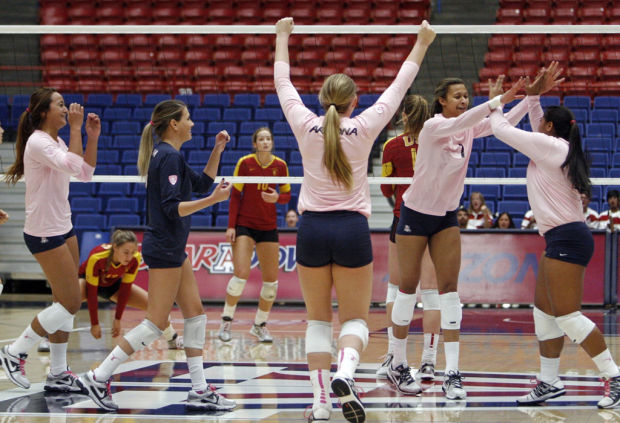 UA vs USC Volleyball