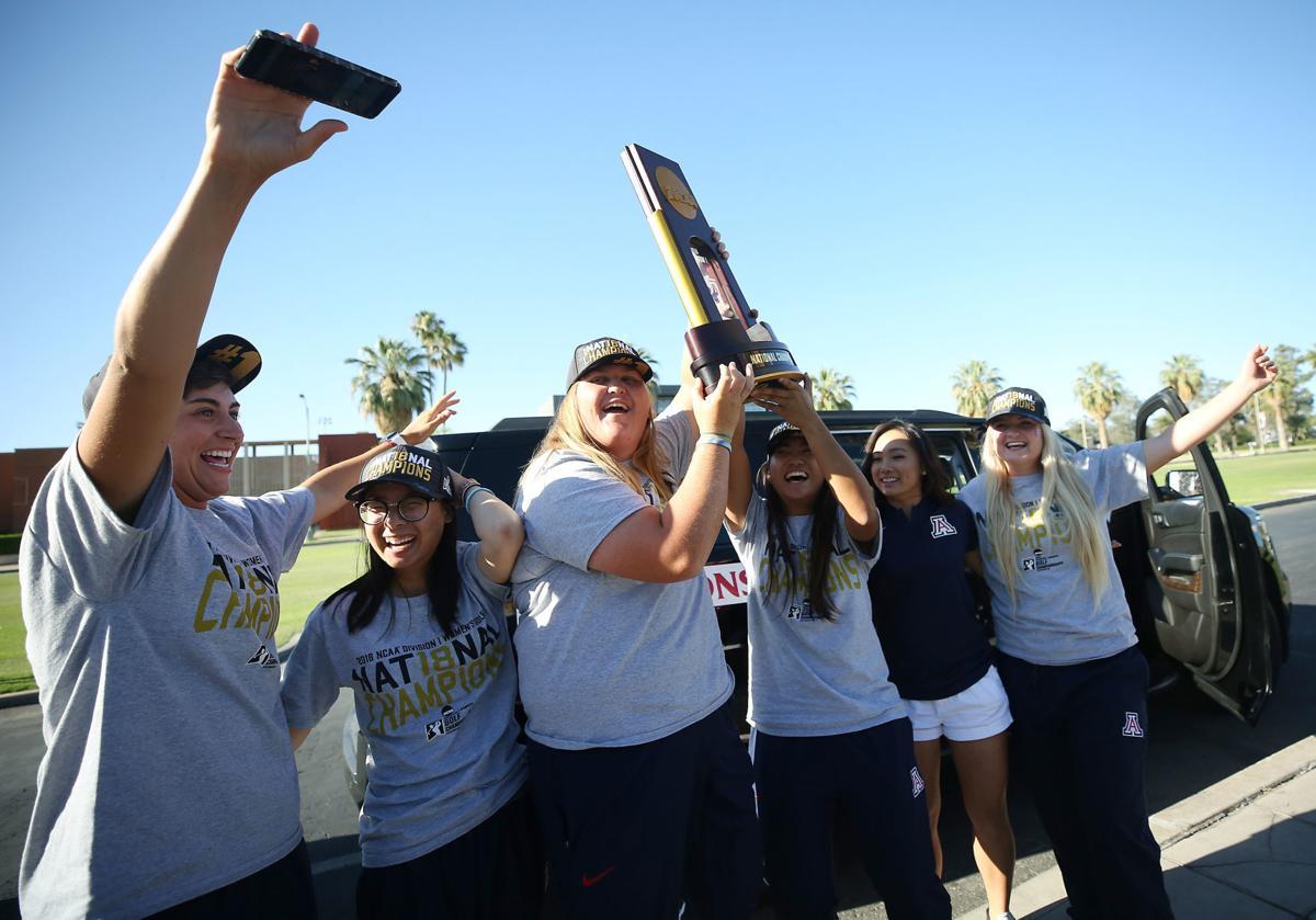 Arizona Women's Golf Team (copy)