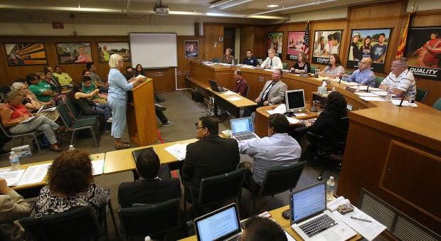 TUSD board meeting