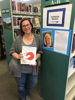 Jodi Ohlson, Library Manager, Caviglia-Arivaca Library