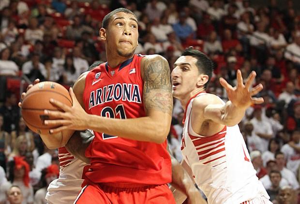 Arizona Texas Tech Basketball