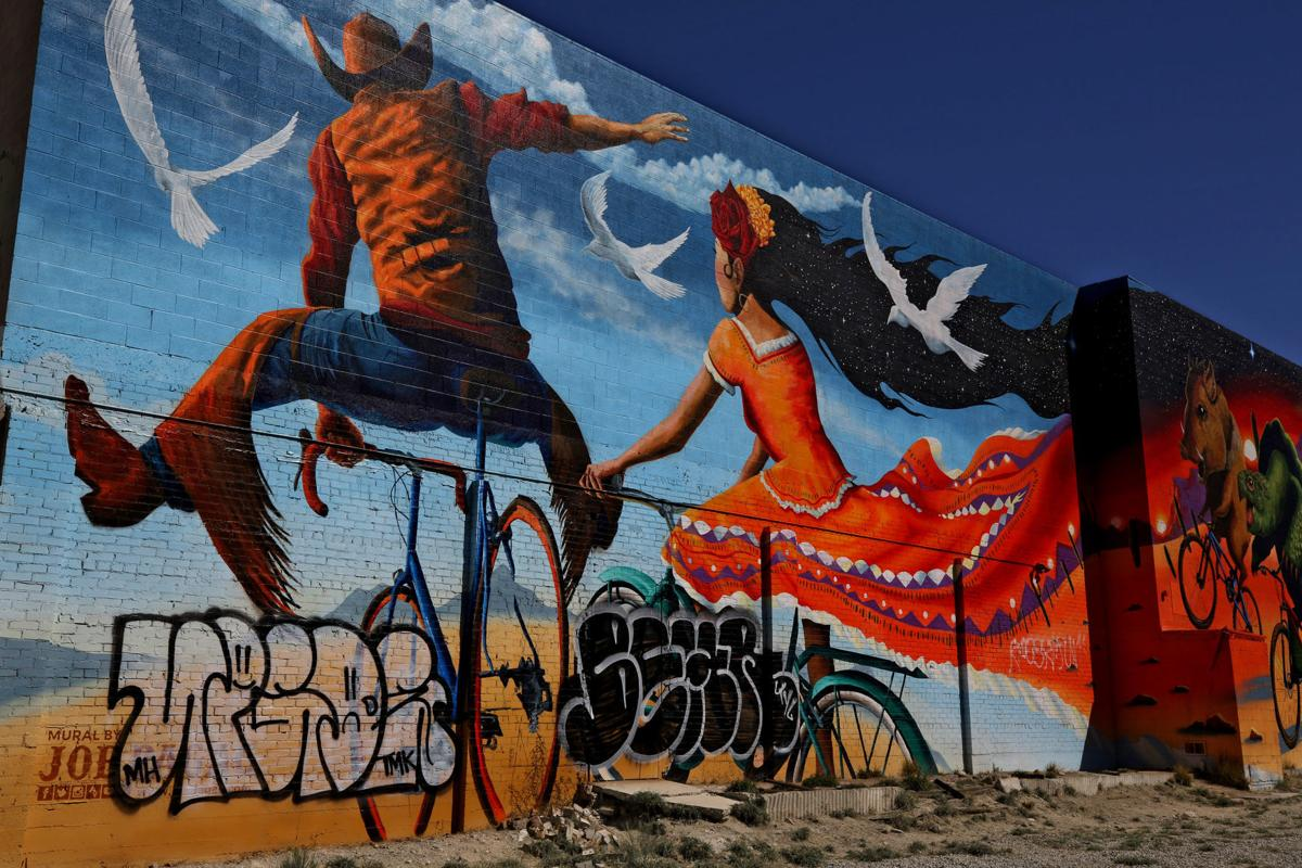 Repairs Set This Week For Popular Tucson Mural Damaged By Tagging