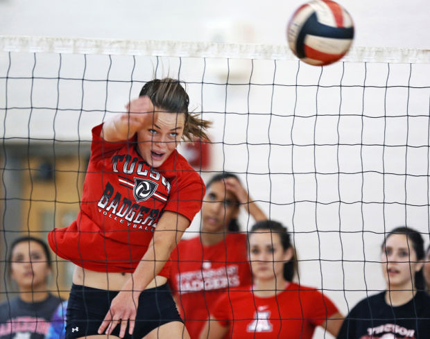 Tucson Volleyball practice