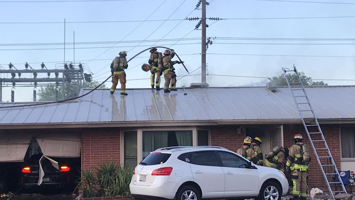 Tuesday morning garage fire