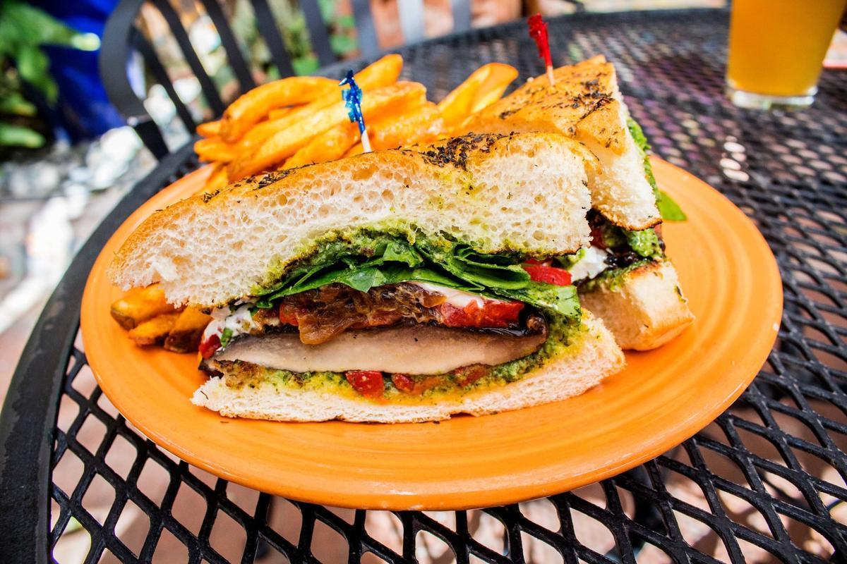 Café a la C'Art portobello sandwich