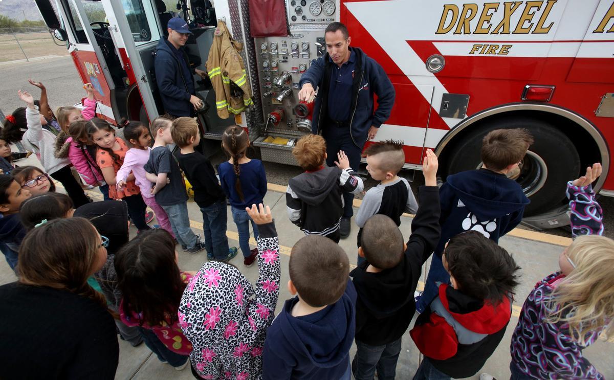 Fire safety school graduation