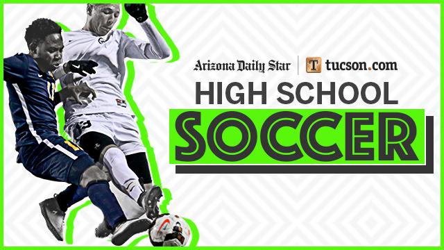 High school soccer logo