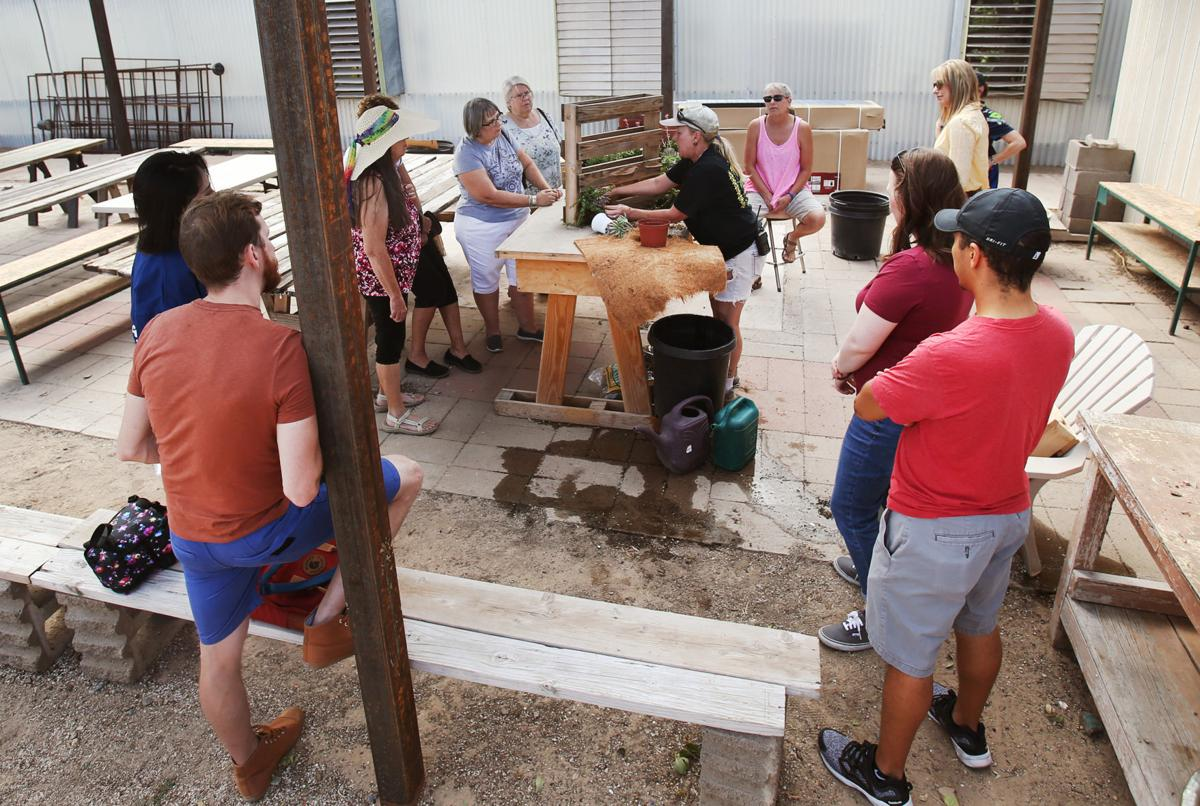 Pallet-making class at Green Things