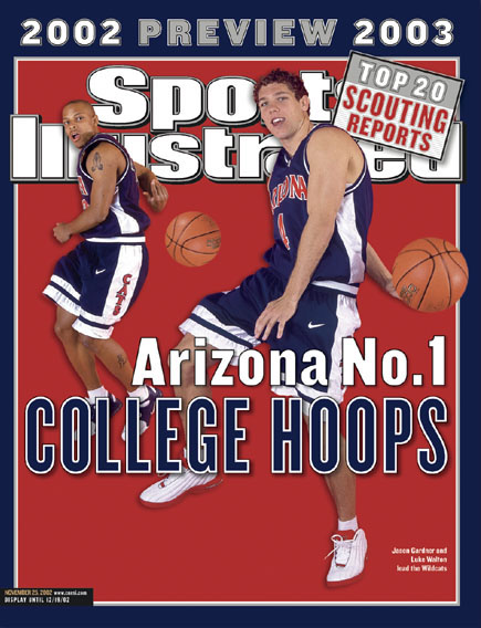 Sports Illustrated 2003 Arizona Wildcats cover