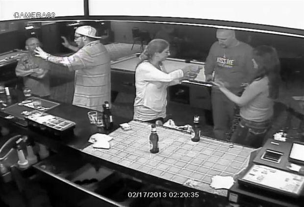 Mom, son beat down in Tucson bar brawl