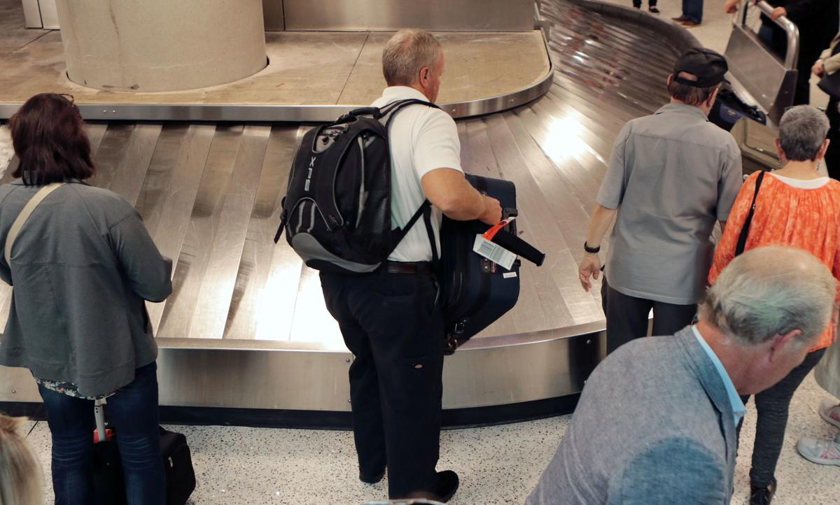TIA Baggage Area