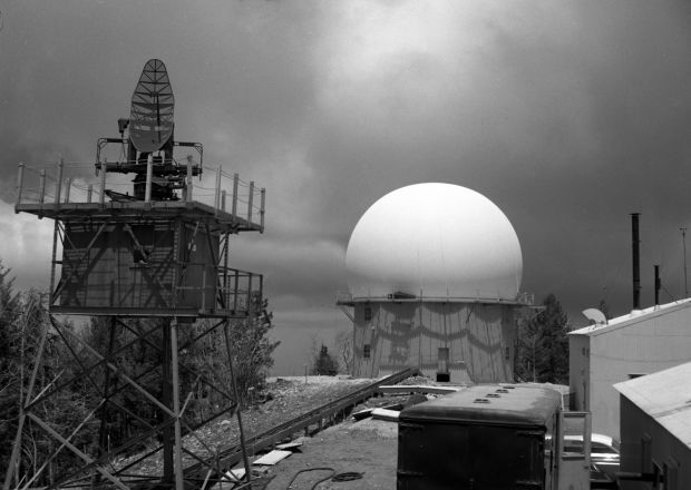 Throwback Thursday: Mount Lemmon Air Force Station in 1957