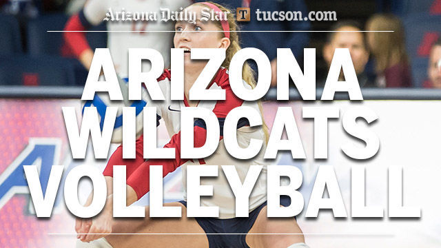 Arizona Wildcats volleyball logo