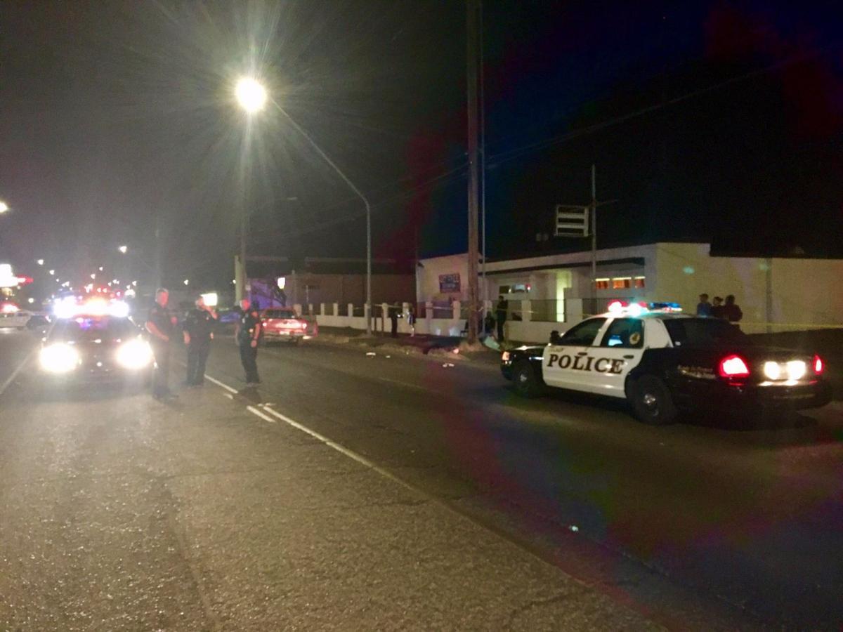 Tucson police investigate pedestrian crash scene