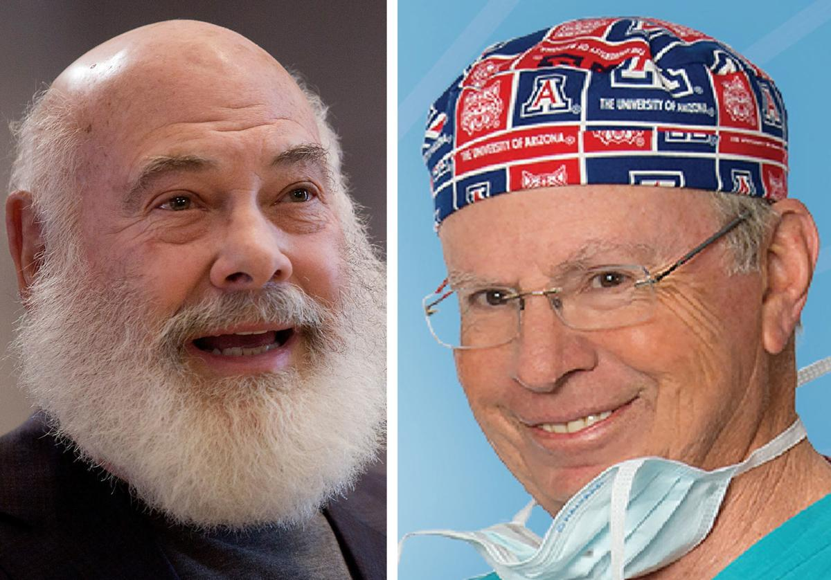 Drs. Andrew Weil and Irving Kron