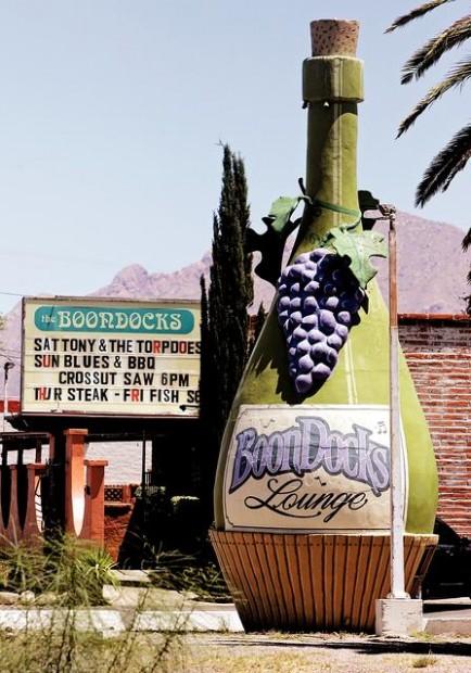Gigantic wine bottle brings fame, fortune to Boondocks tavern