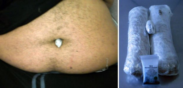 Border officers: Tucson man hid heroin in bellybutton
