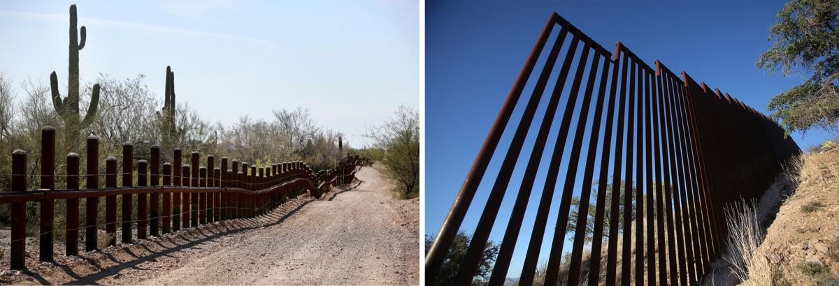 Image result for old border wall fencing
