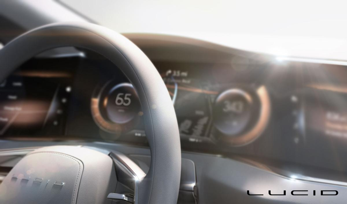 Lucid electric car
