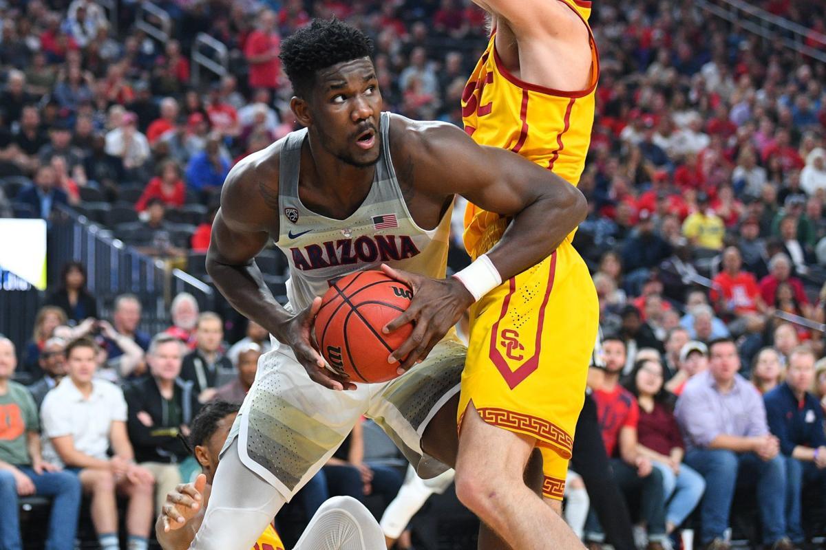 COLLEGE BASKETBALL: MAR 10 PAC-12 Tournament - USC v Arizona