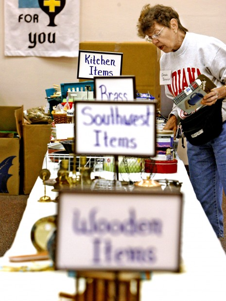 Church's colossal yard sale raises money - and spirits