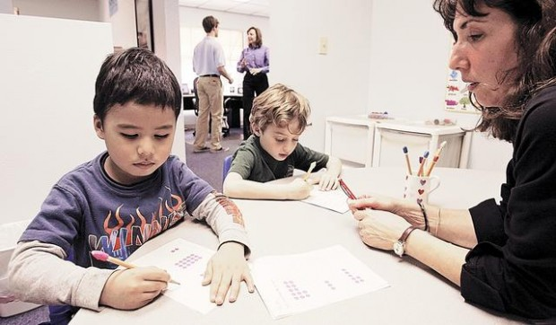 Kumon gives school kids an edge