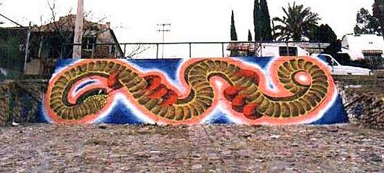 Confunden mural con vandalismo