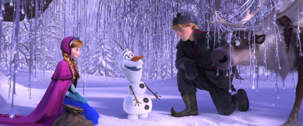 'Frozen' an icy blast of fun from the first snowflake