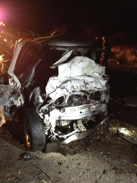 One man killed, another injured in head-on crash near D-M