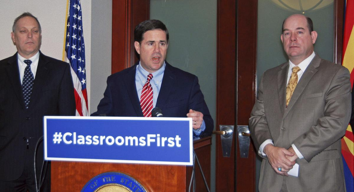 Doug Ducey, Andy Biggs, David Gowan