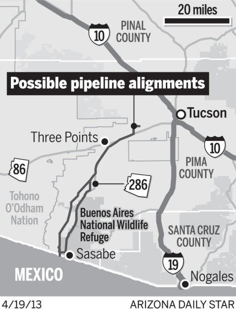 Tohono O'odham: Pipeline would harm cultural sites