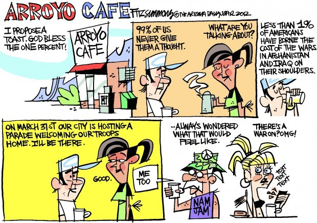 Daily Fitz Cartoon: Welcome home