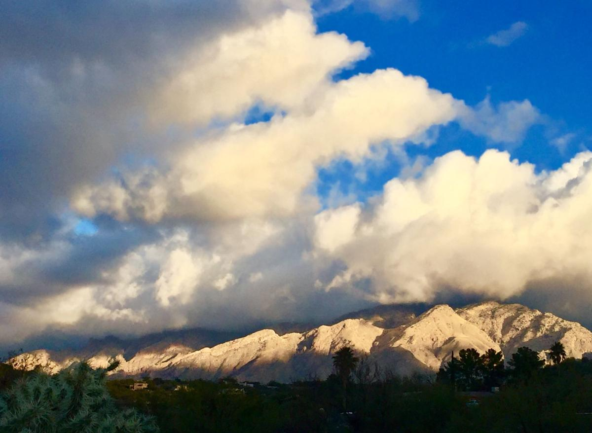 Clouds and Catalinas